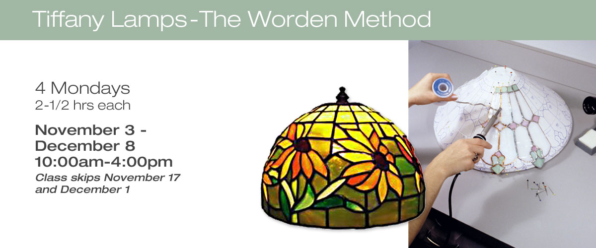 Tiffany Lamps - Worden Technique