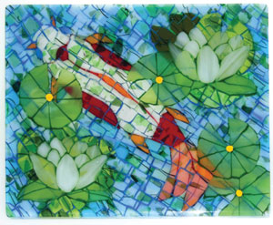 Fused Glass Mosaics