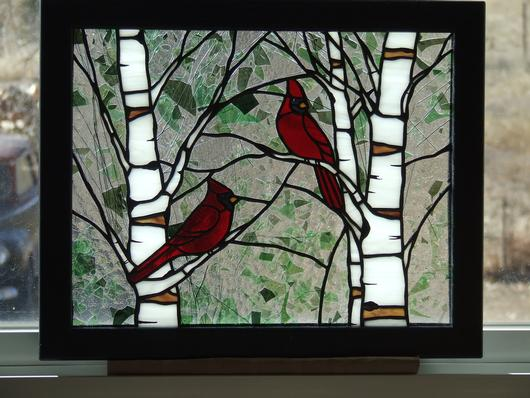 Cardinals In Spring
