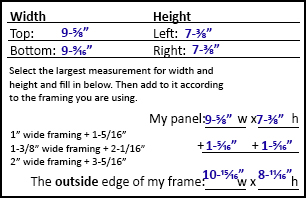 example of measurements