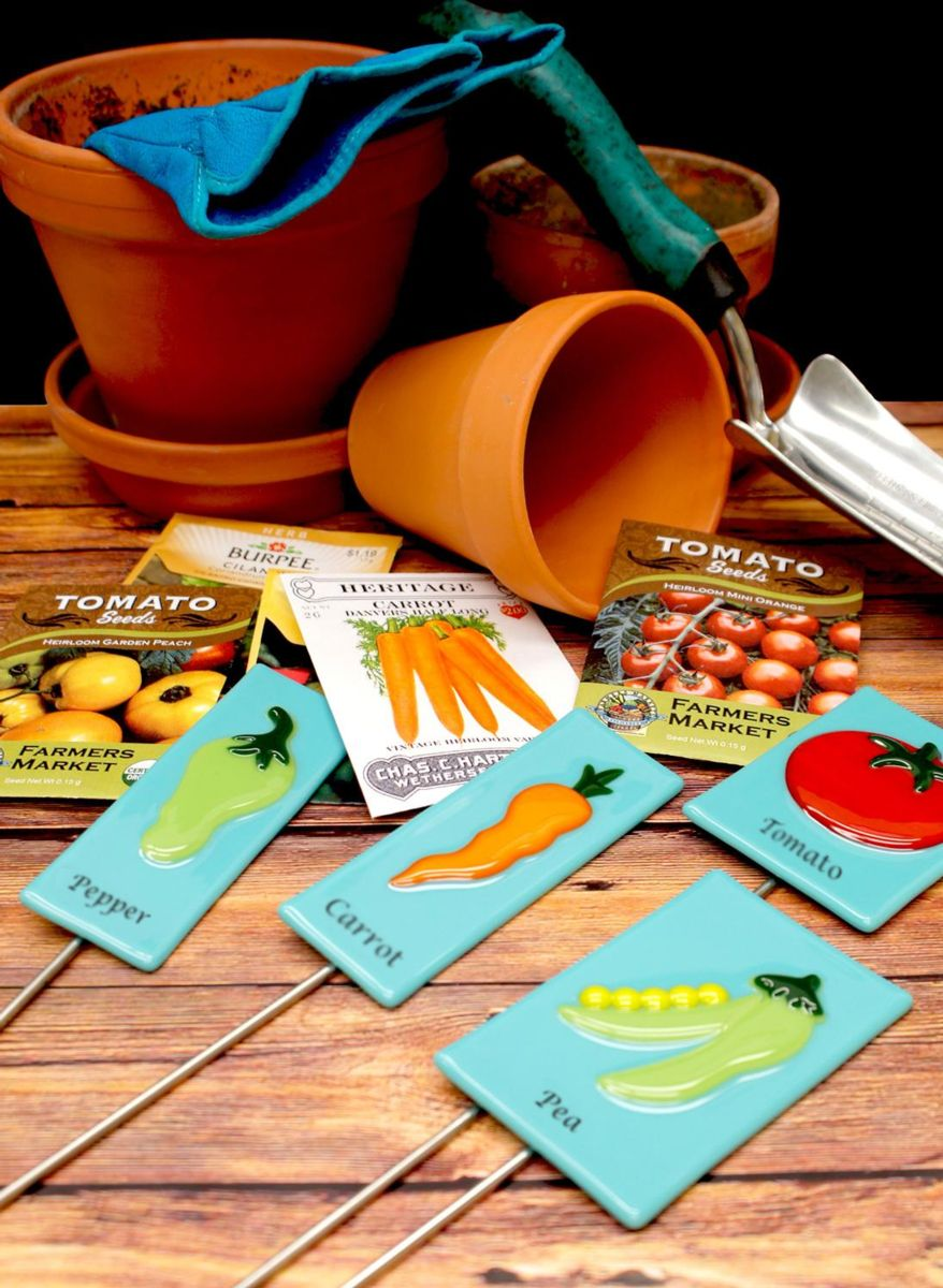 Free Fused Garden Stakes Project Guide