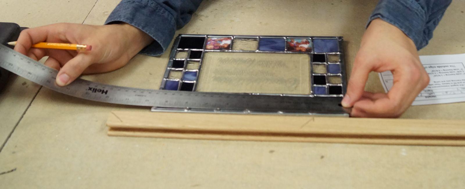 Measure your panel. Record measurements.