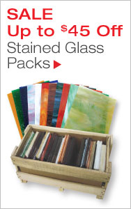 Up to $45 Off Stained Glass Packs
