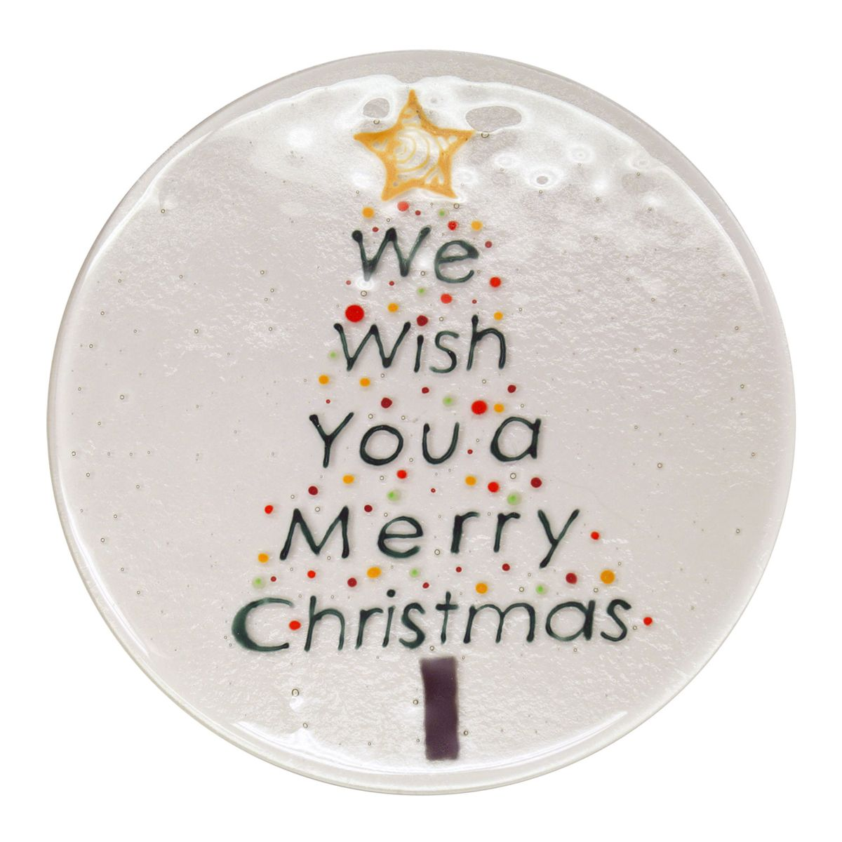 We Wish You a Merry Christmas Plate
