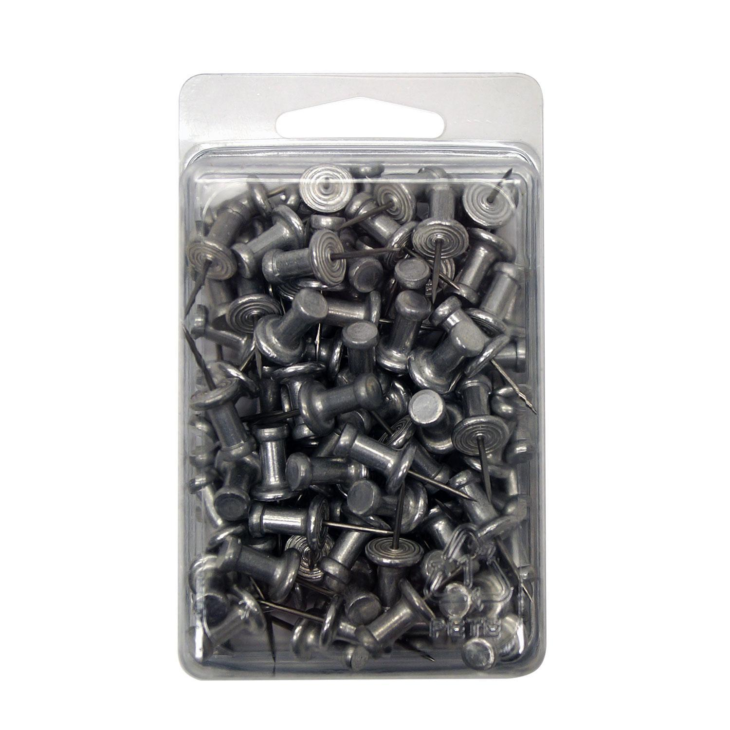 Metal Push Pins - Box Of 100