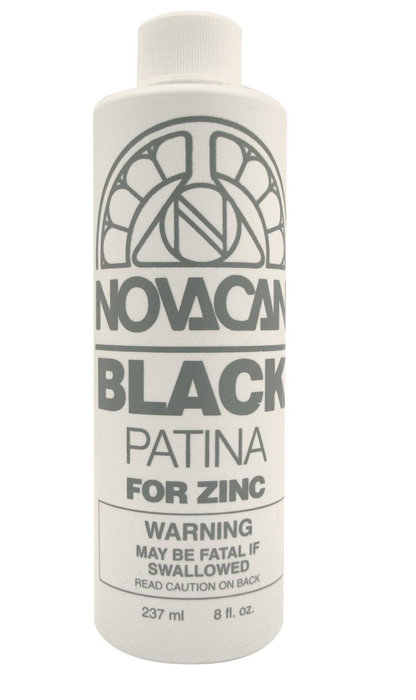 Black Patina For Zinc - 8 Oz