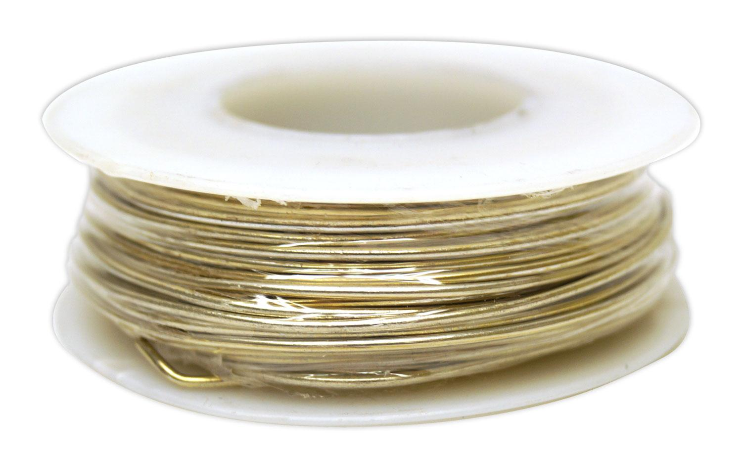 18 Gauge Pre-tinned Copper Wire - 4 oz