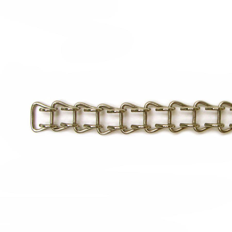 18 Gauge Nickel Ladder Chain - 1 Ft