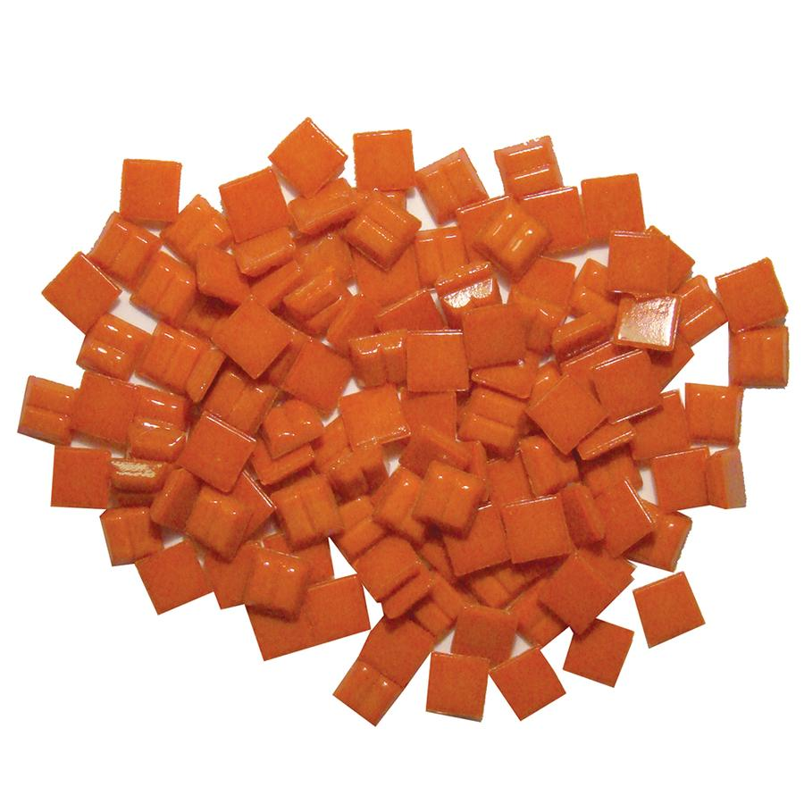 3/8 Poppy Glass Tile - 1 lb