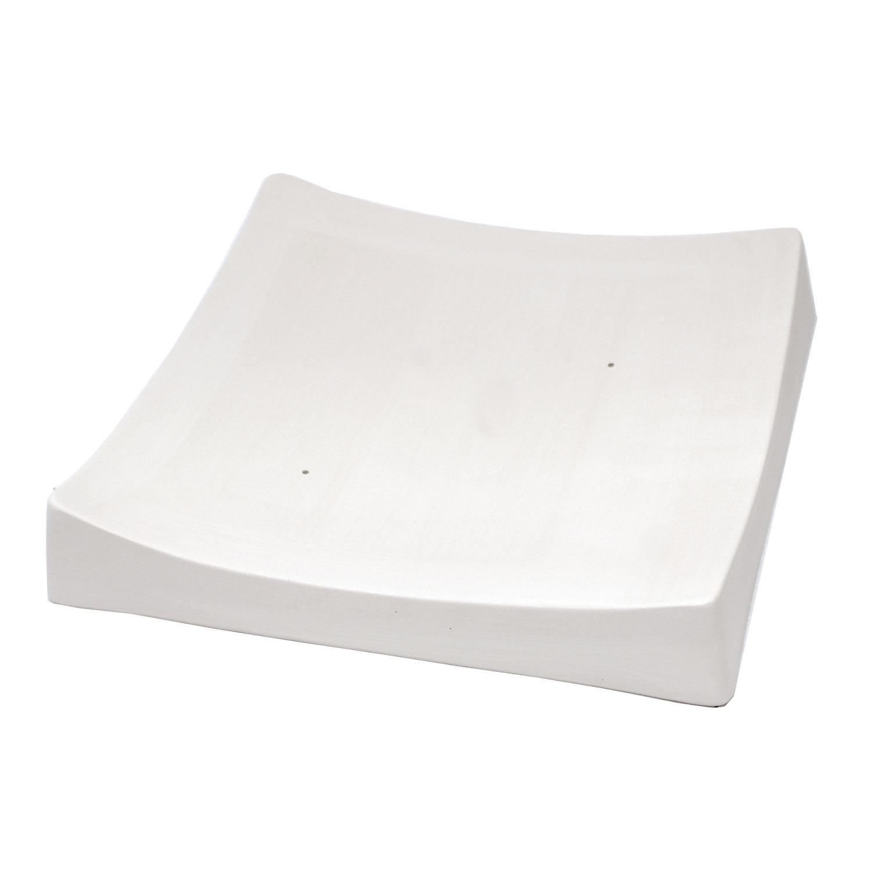 8-1/2 x 8-1/2 x 1-1/2 Square Slumper Mold