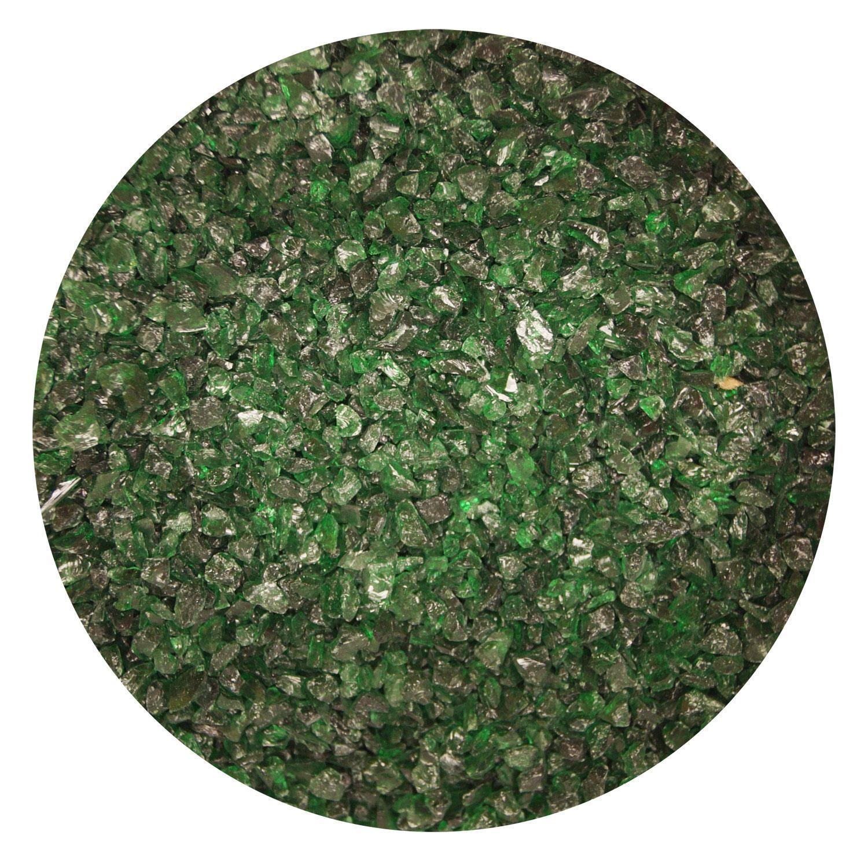 1 Lb Aventurine Green Transparent Medium Frit - 90 COE