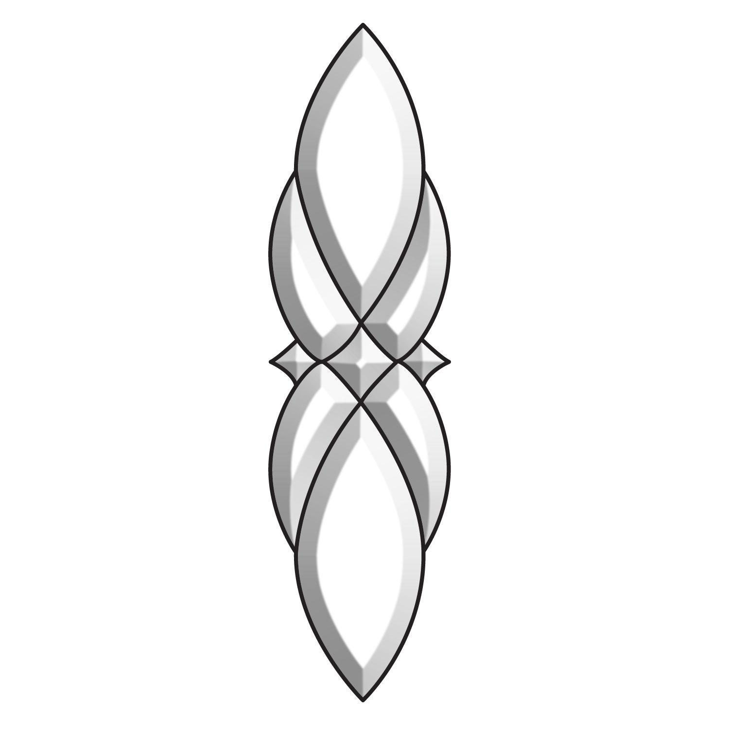 Ornate Bevel Cluster