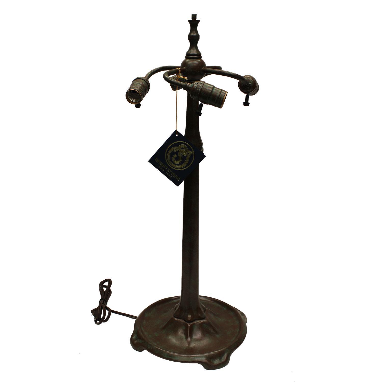 25-1/2 Stick 3 Light Cluster Lamp Base