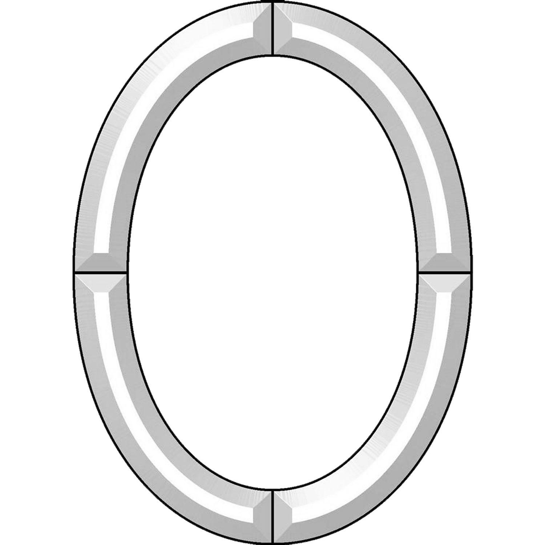 11 x 15 Oval Frame Bevel Cluster