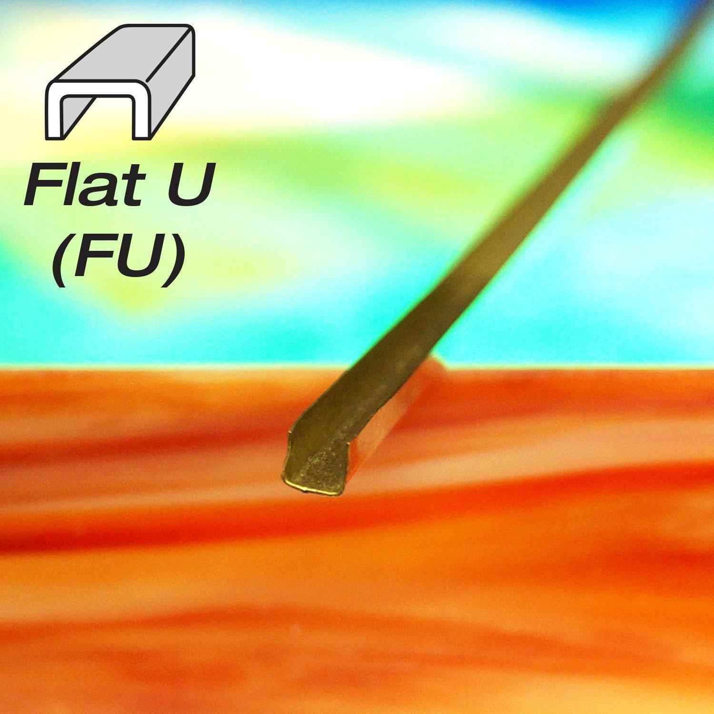 1/8 FU Brass Came - 6 ft Piece