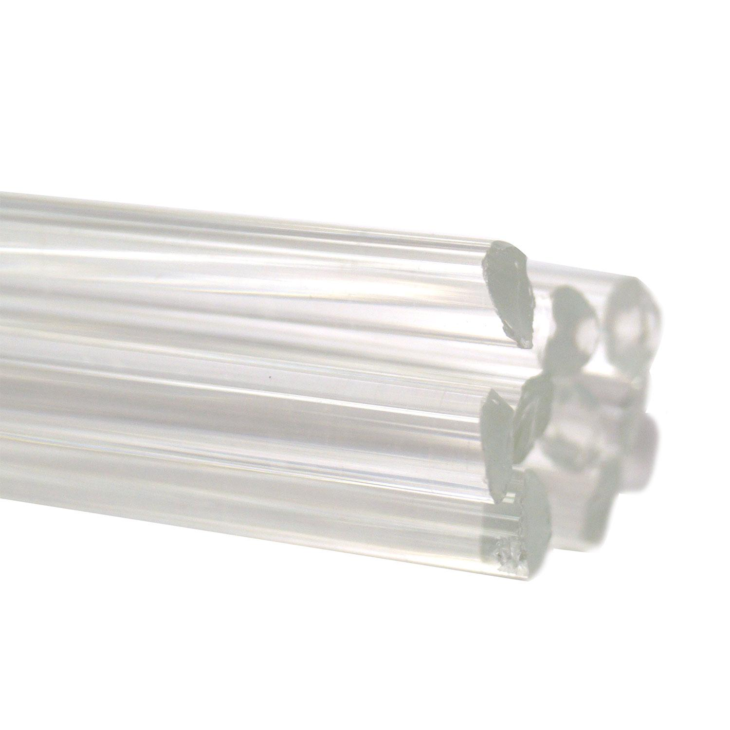 Crystal Clear Transparent Rods - 90 COE