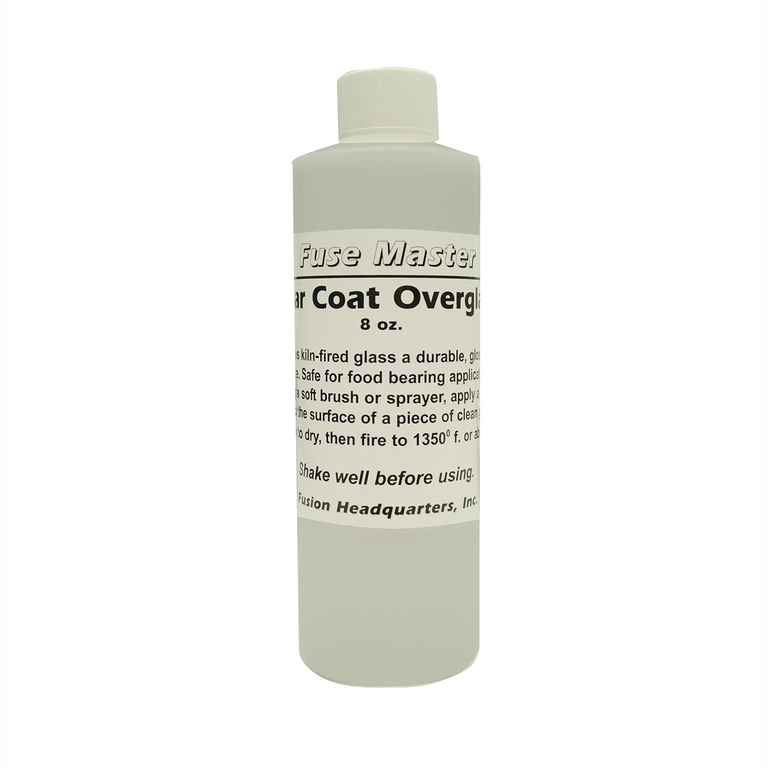 Clear Coat Overglaze - 8 oz.