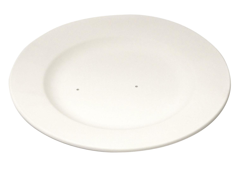 10 Rimmed Dinner Plate
