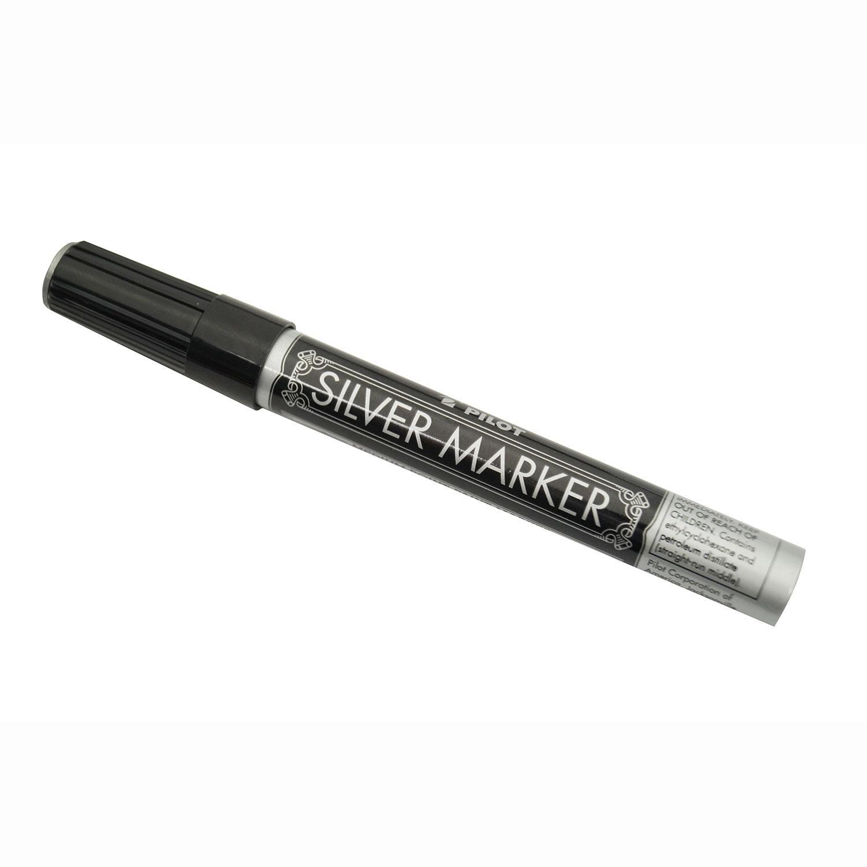 Silver Marker - Medium Point