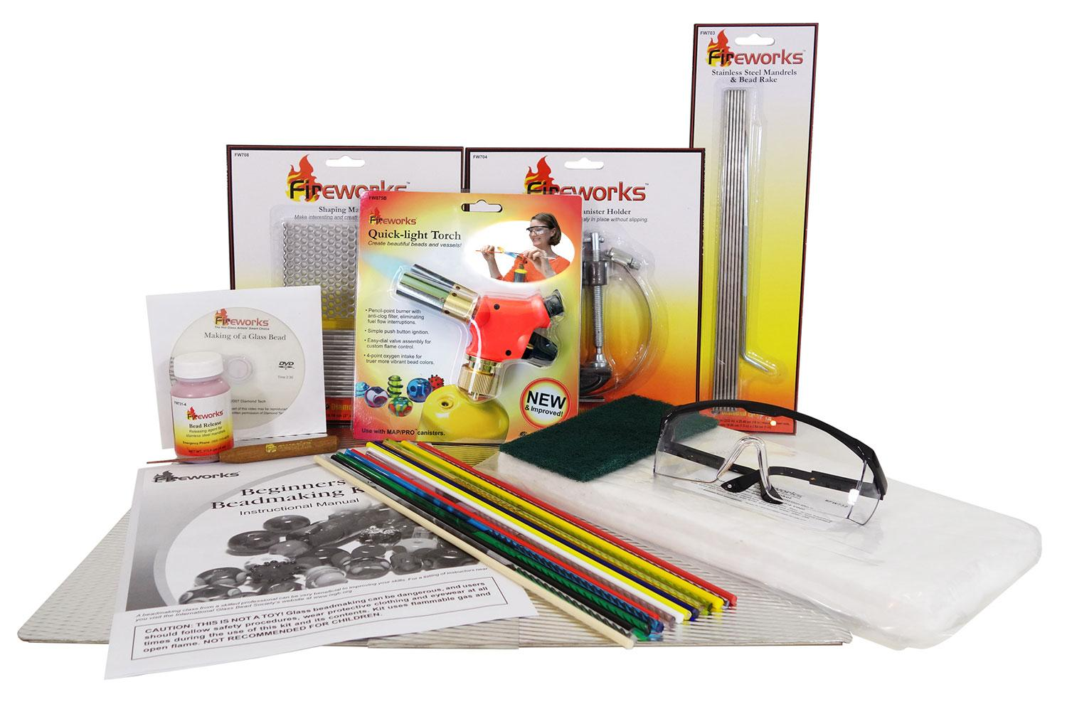 Fireworks Bead Making Kit