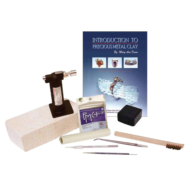 Silver Jewelry Clay Starter Kit