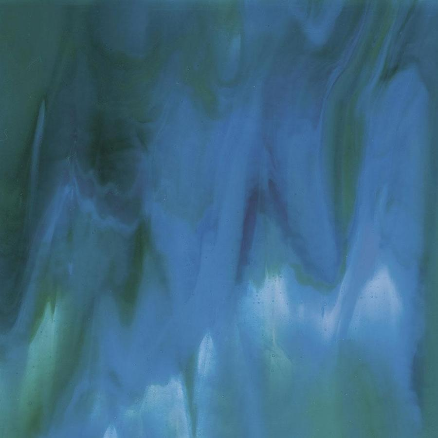 Bullseye Azure Blue, Jade Green & Neo-Lavender Streaky - 90 COE