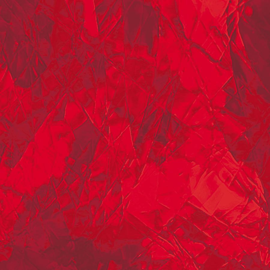 Spectrum Ruby Red Artique Glass