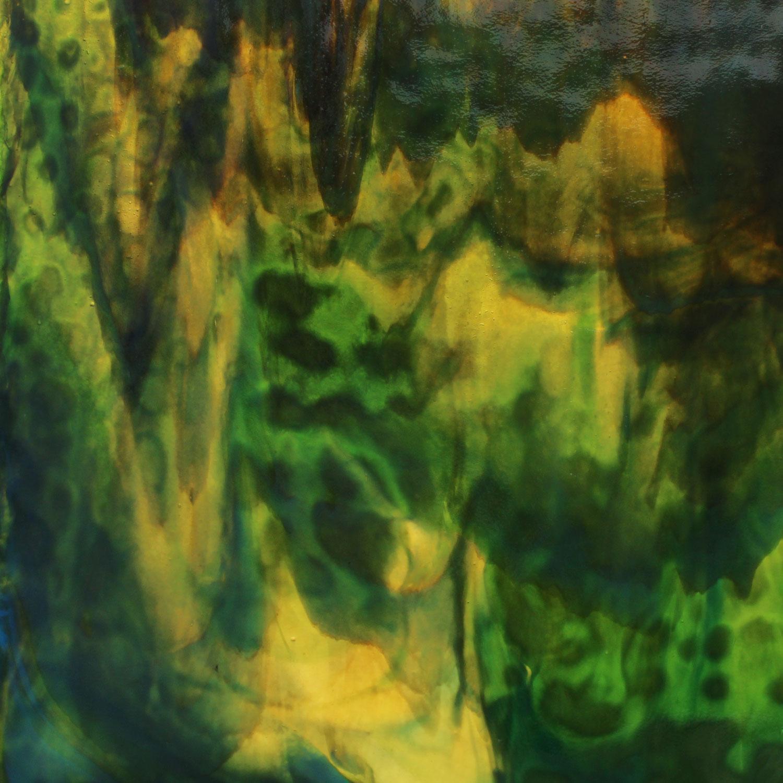 Youghiogheny Beige, Copper Cobalt Blue, Dark Green Stipple