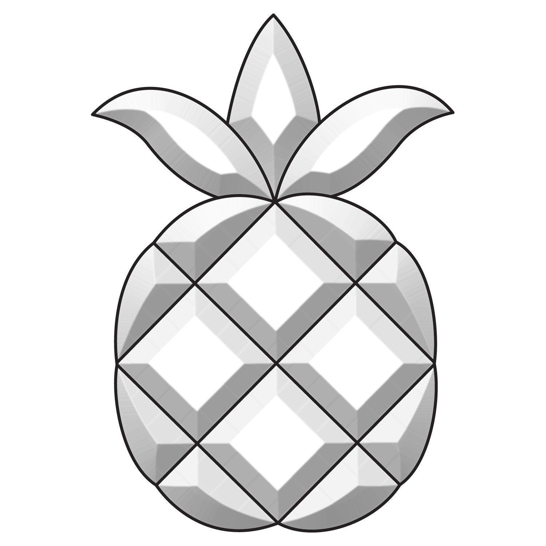 Pineapple bevel Cluster