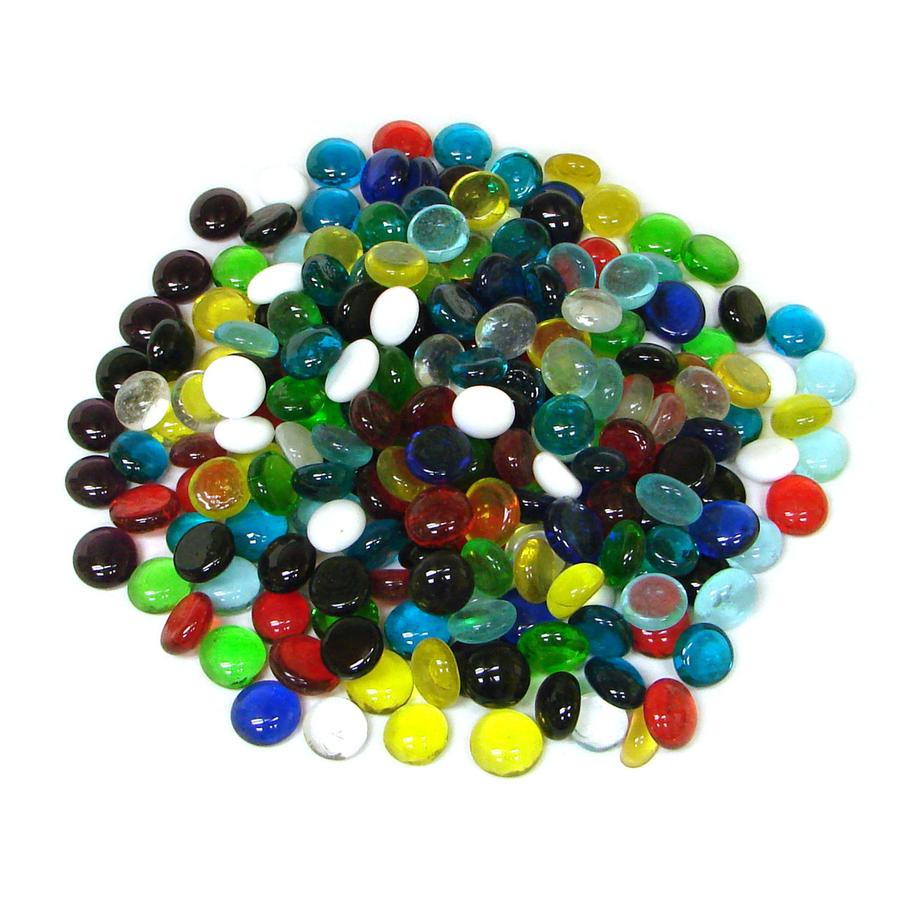 Medium Assorted Glass Nuggets - 1 Lb.