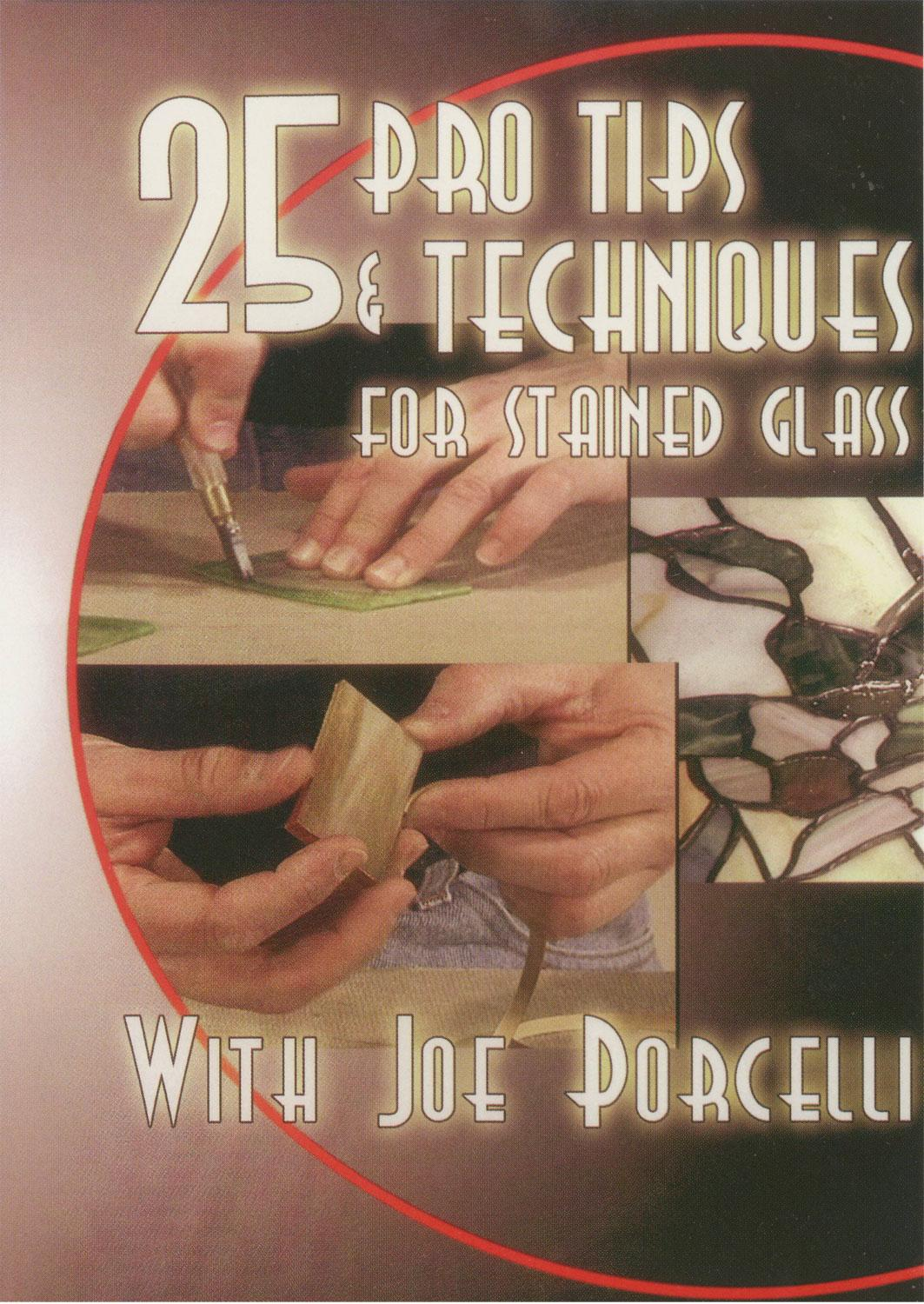 25 Pro Tips & Techniques for Stained Glass - DVD