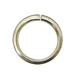 1/4 Silver Rings - 125 Pieces