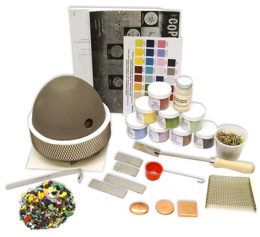 Enameling Beginner Kit Jewelry Delphi Glass Jewelry