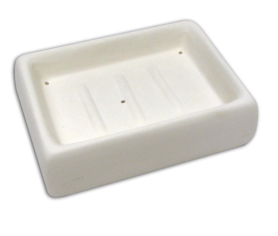 4-1/2 X 3-1/8 Rectangular Soap Dish