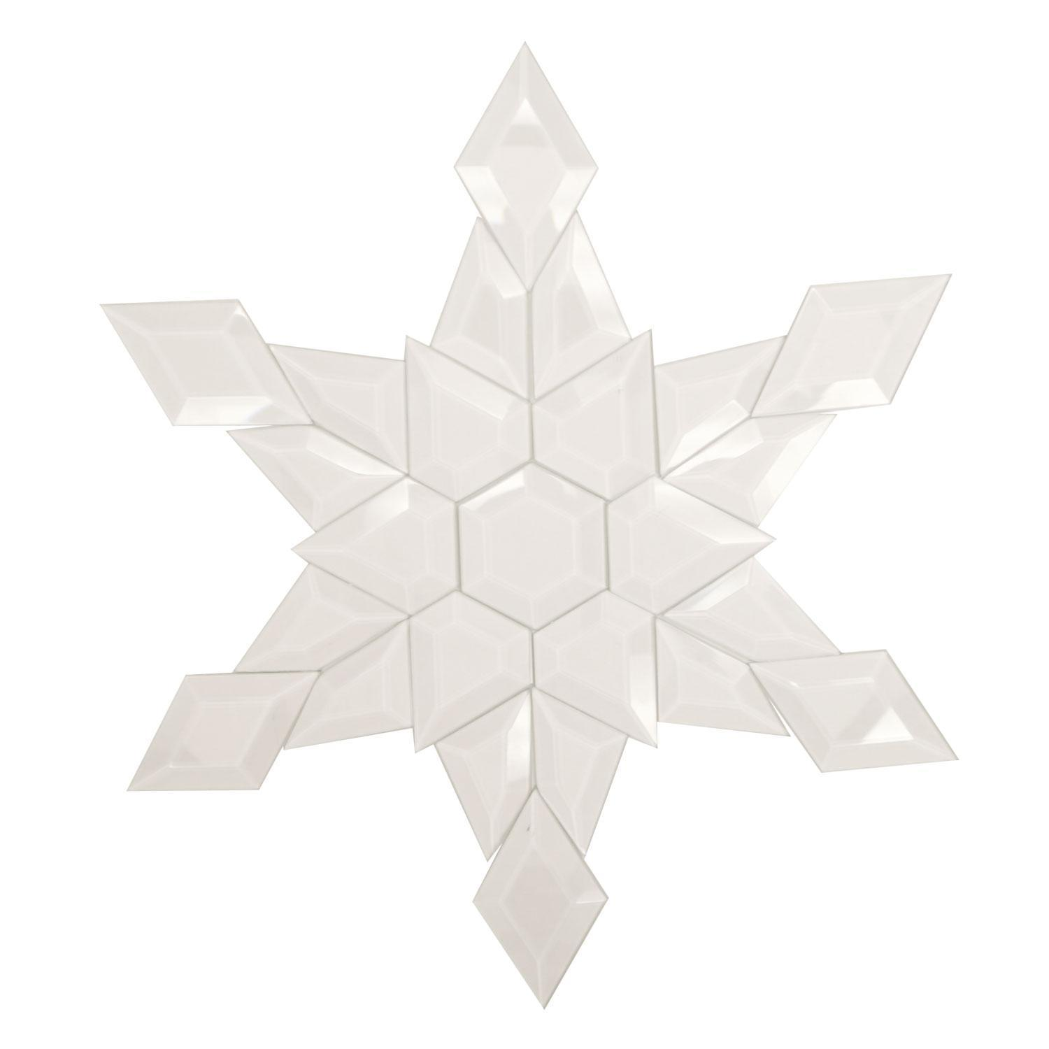 Snowflake Bevel Cluster