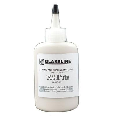 Glassline Pen - White