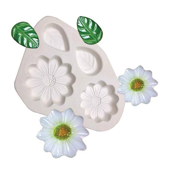 Daisies And Leaves Casting Mold
