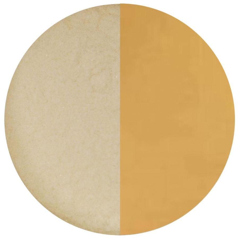 8.5 oz Pale Amber Transparent Powder Frit - 96 COE