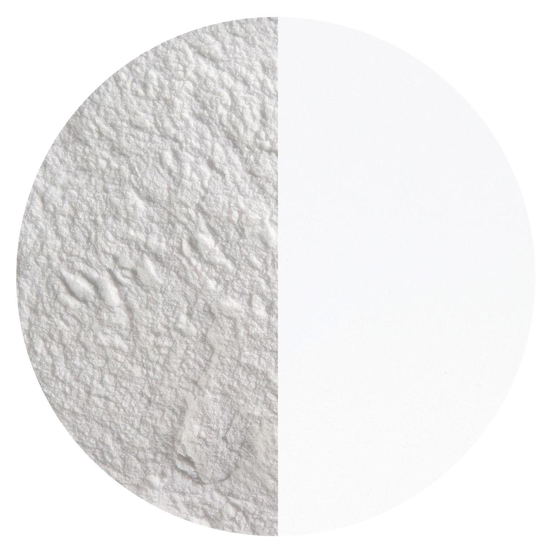 8.5 oz White Opal Powder Frit - 96 COE