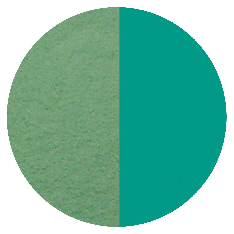 8.5 oz Teal Green Transparent Powder Frit - 96 COE