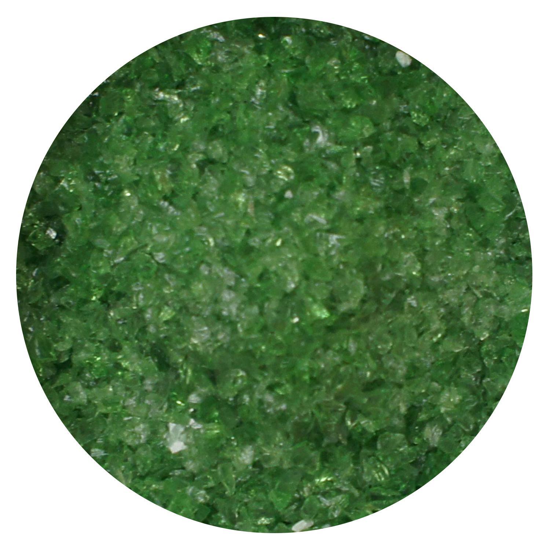 8.5 Oz Light Green Transparent Medium Frit - 96 COE