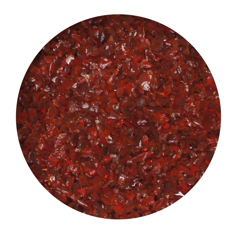 8.5 oz Red Opal Medium Frit - 96 COE