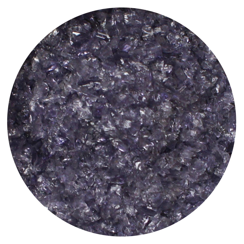 8.5 Oz Grape Transparent Medium Frit - 96 COE