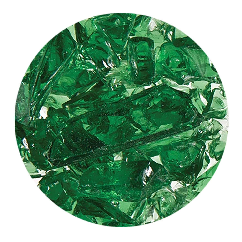 8.5 Oz Light Green Transparent Coarse Frit - 96 COE