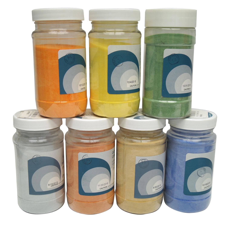 Oceanside Powder Frit Sampler Pack - 96 COE