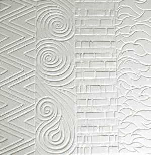 4 Hot Patterns Ceramic Texture Tile Mold