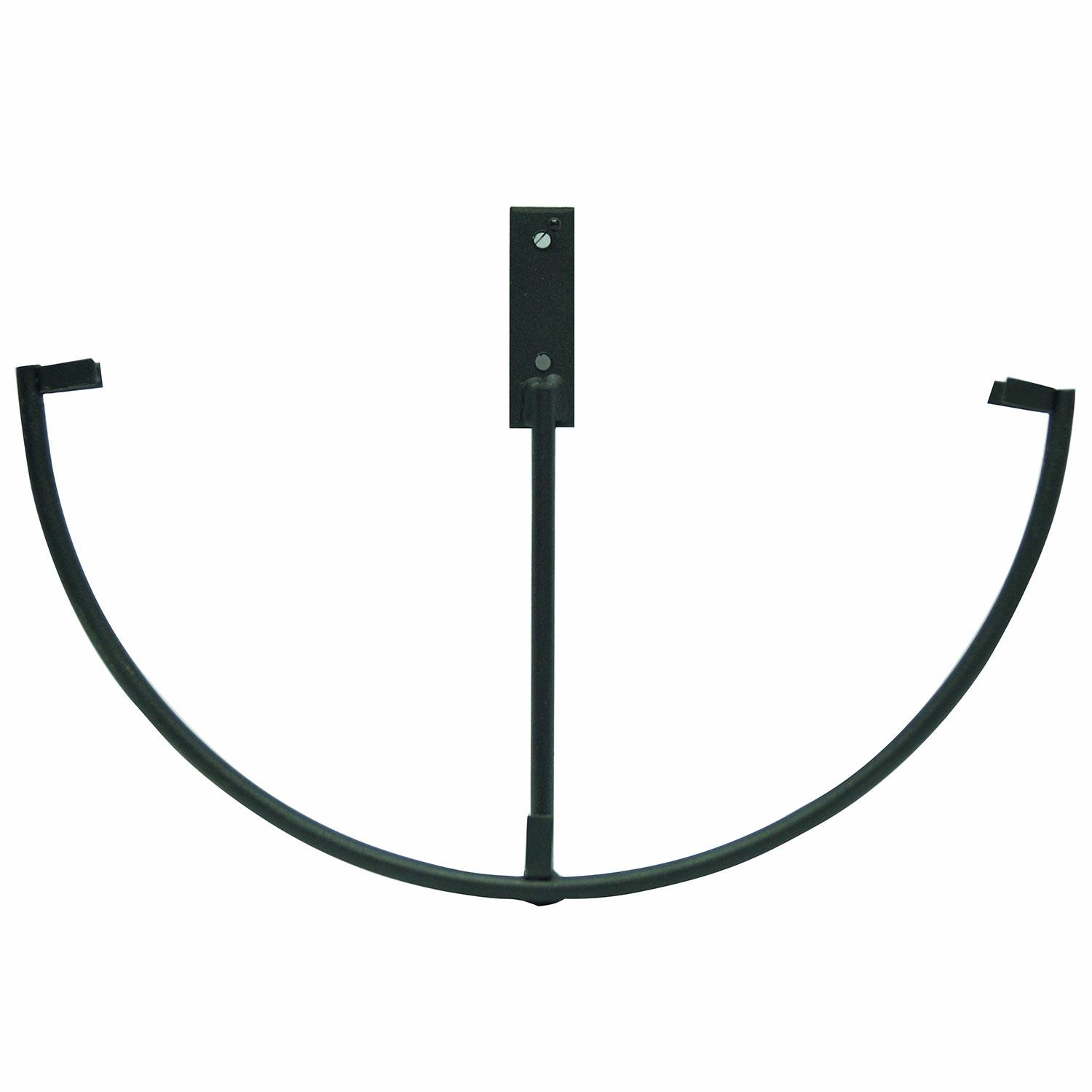 10 Round Wrought Iron Wall Display Stand