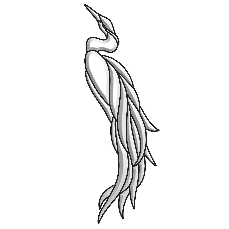 Heron Bevel Cluster - Facing Left