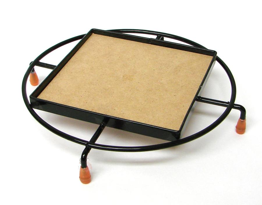 4 Square Trivet with Round Frame