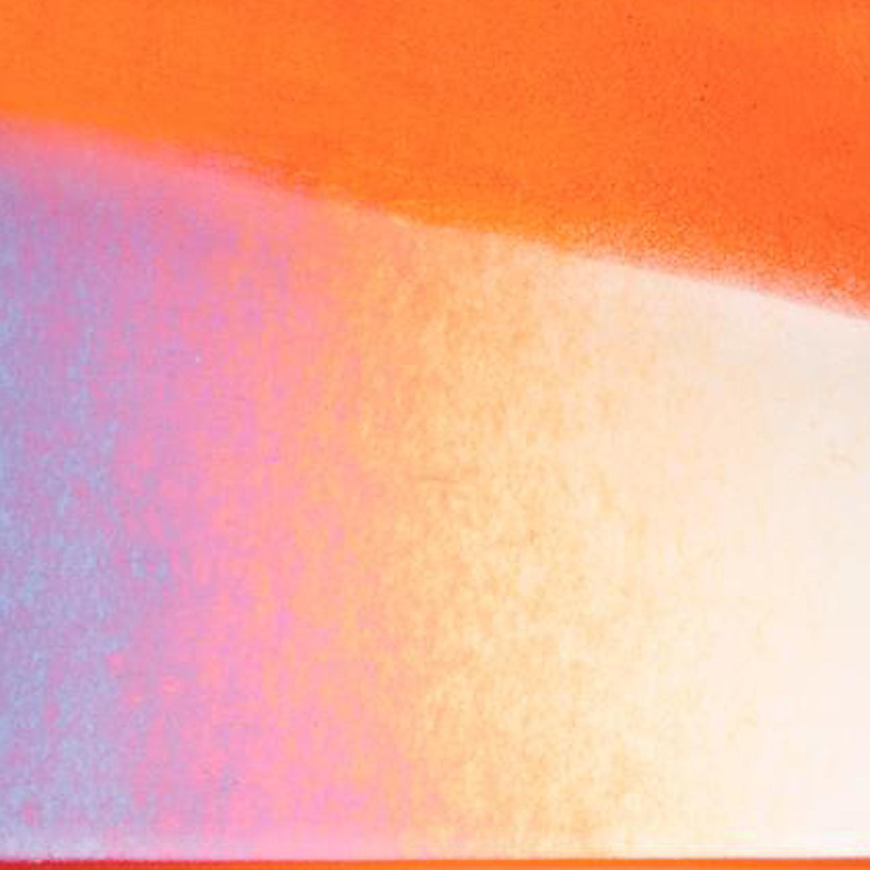 Bullseye Sunset Coral Transparent Rainbow Iridized Striker Thin - 90 COE